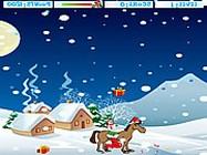 Christmas horse online
