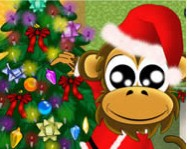 Christmas monkey online